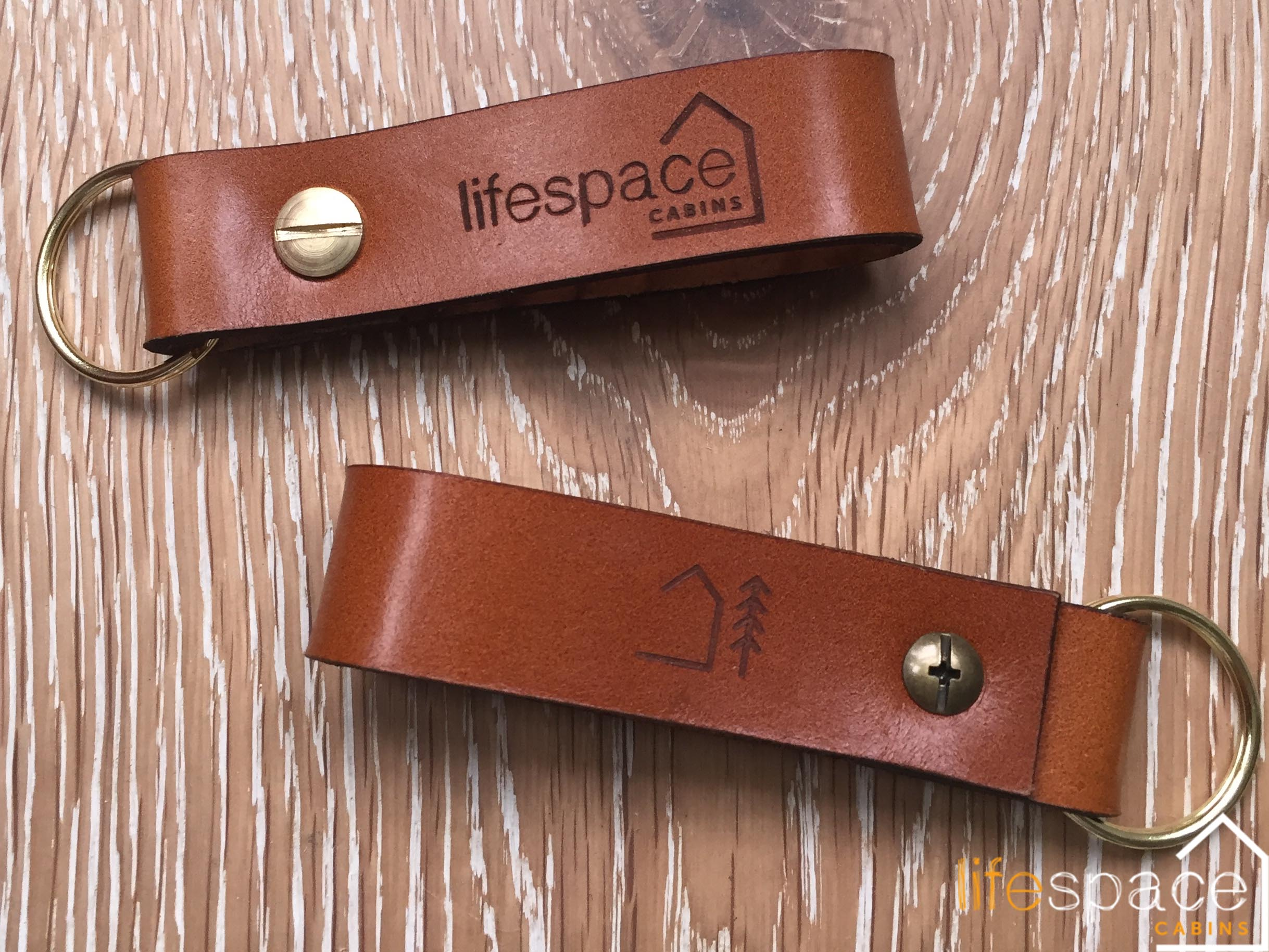 Life Space Cabins Key Ring merchandise made by Cut By Beam