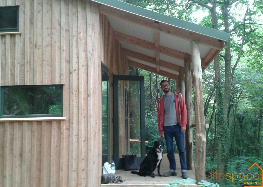 Building the Dream, Cabin Blog Post | Life Space Cabins