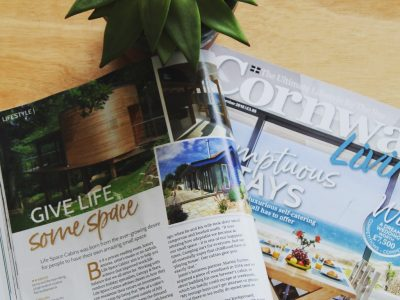 Cornwall Living feature September 2018