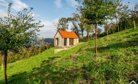Luxury oak frame cabin in South Devon | Life Space Cabins