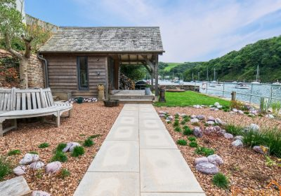Riverside Cabin with Oak frame | Life Space Cabins