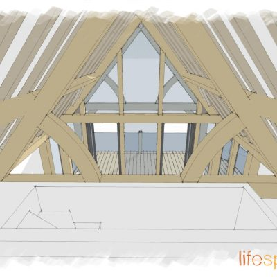 The Garden Lodge Oak Eaves | Life Space Cabins