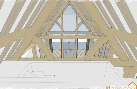 The Garden Lodge Oak Eaves   Life Space Cabins