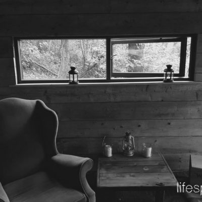 Woodland Foresters Cabin A place to come and be off grid |Life Space Cabin