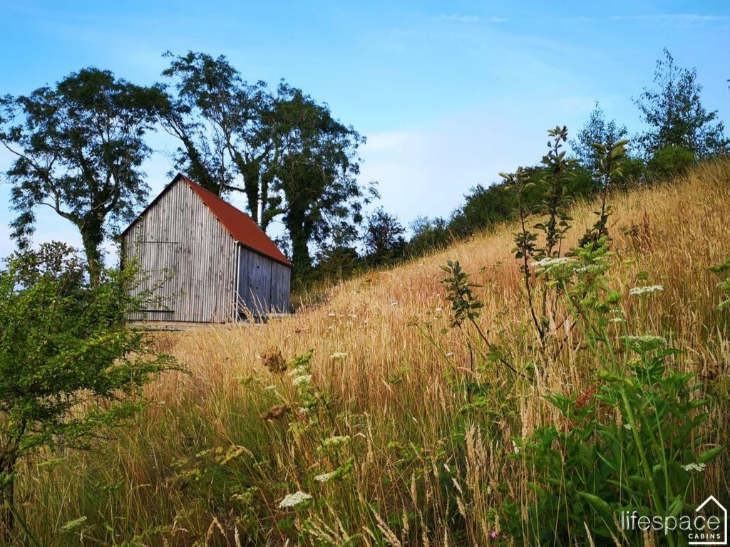 Woodcutters Refuge in Devon as featured in Cabin Porn inside built on a hillside _ Life Space Cabins